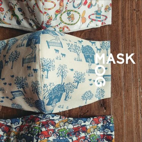 MOG MASK / M【全4サイズ】 ~ フィルターポケット+ノーズワイヤー付き~