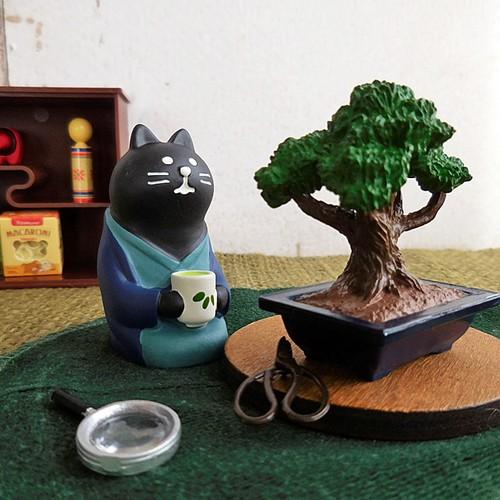 (261) デコレ コンコンブル 日本茶 黒猫 旅猫