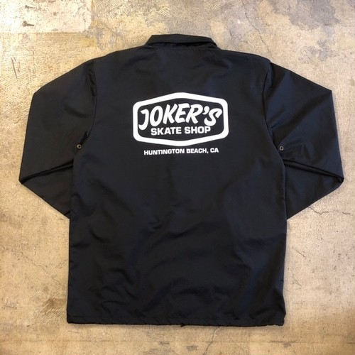 JOKER'S SKATE SHOP #Logo Coach Jacket