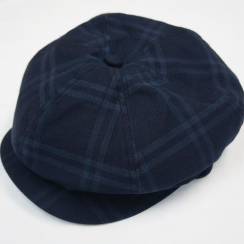 DARK CHECK 6PANEL CASQUETTE