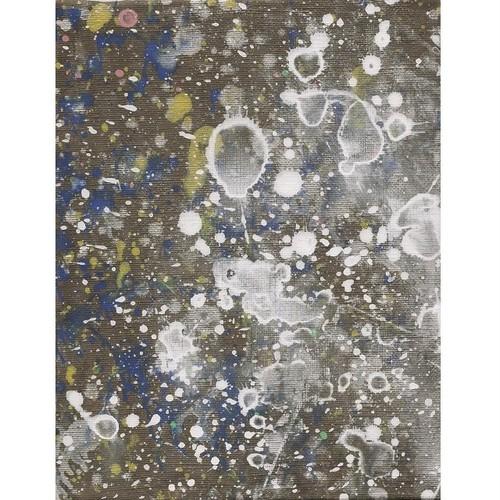 「無題」 キャンバスにアクリル * 現代美術 アート作品 抽象画 内野隆文 takafumiuchino