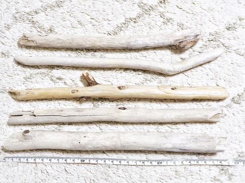 【25〜30cm】マクラメ用流木5本set