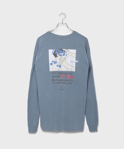 Pigment Kevin Longsleeve T-shirt[LEC995]