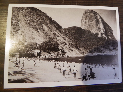 ブラジル1950年リオのポストカード