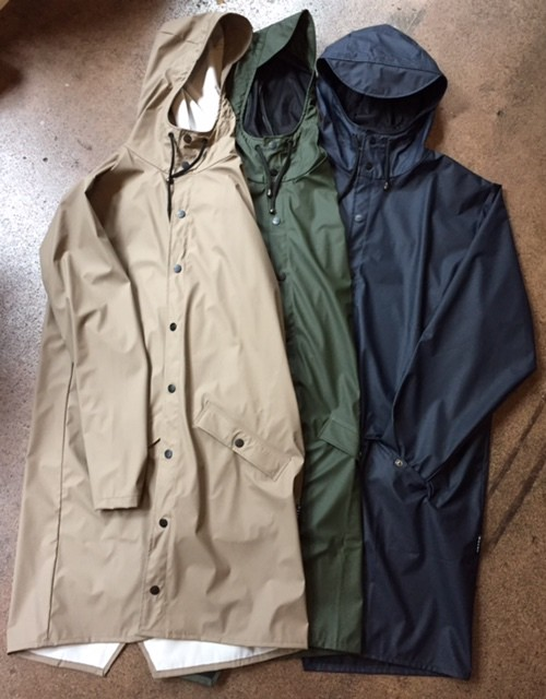 RAINS LONG JACKET(MODS COAT型)