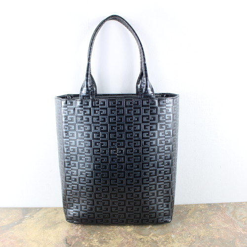 .OLD GIVENCHY LOGO PATTERNED LEATHER TOTE BAG/オールドジバンシィロゴレザートートバッグ 2000000049434