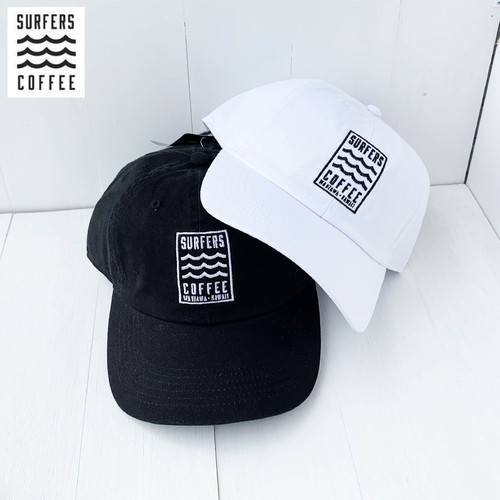 """SURFERSCOFFEE""  BASEBALL CAP 2color"
