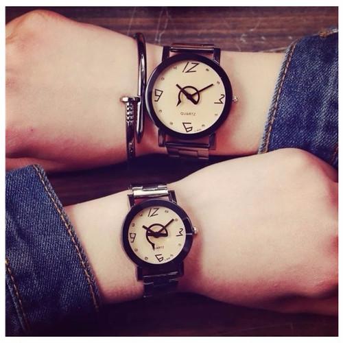 メンズ レディース メタルバンド 腕時計 ステンレス ビジネス プライベート ペアウォッチ 人気 おしゃれ