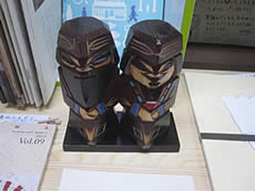 ニポポ人形(北海道)ちびペア【民芸品】