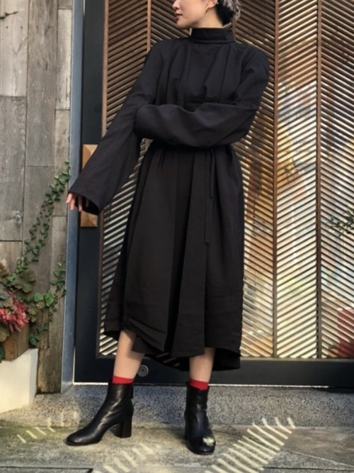 【20AW】LEMAIRE ルメール / BLOUSE DRESS