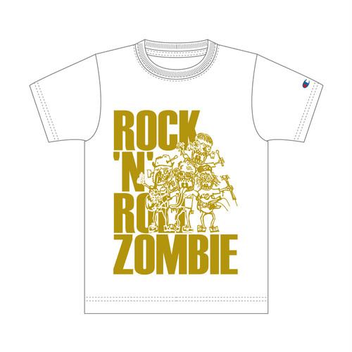 【THE だいじょぶズ】ロックンロールゾンビTシャツ(Champion)