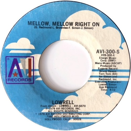 Lowrell ‎– Mellow Mellow Right On / Overdose Of Love
