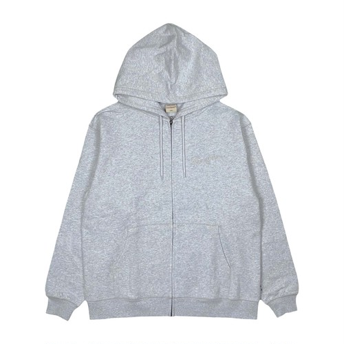 MFC STORE x Goodwear EMBROIDERY ZIP HOODED / GRAY
