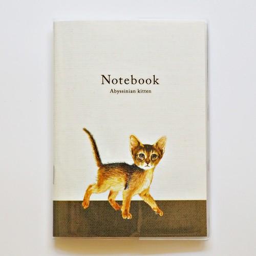 猫 メモノート アビシニアン イラスト B