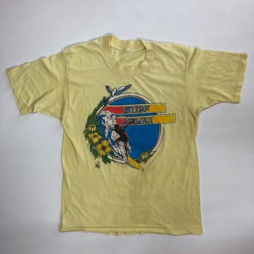 70~80's SURF HAWAII サーフィン ハワイ ビンテージ Tシャツ