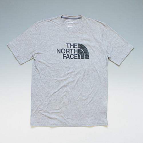【メール便対応】THE NORTH FACE SAMPLE HD LOGO TEE ノースフェイス サンプルデザイン ハーフドームロゴTシャツ(マーブルストーン) グレー