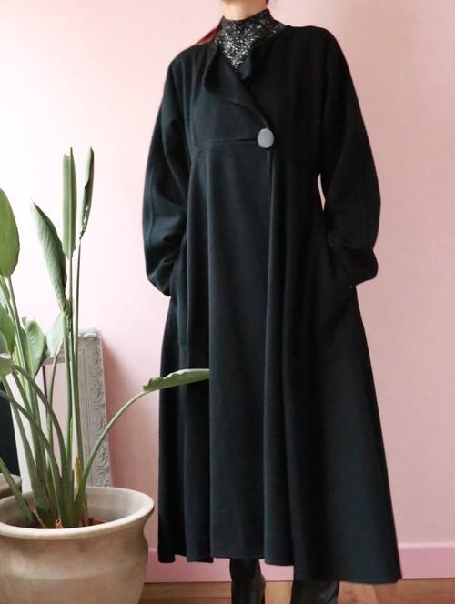 60's Saks Fifth Avenue black coat