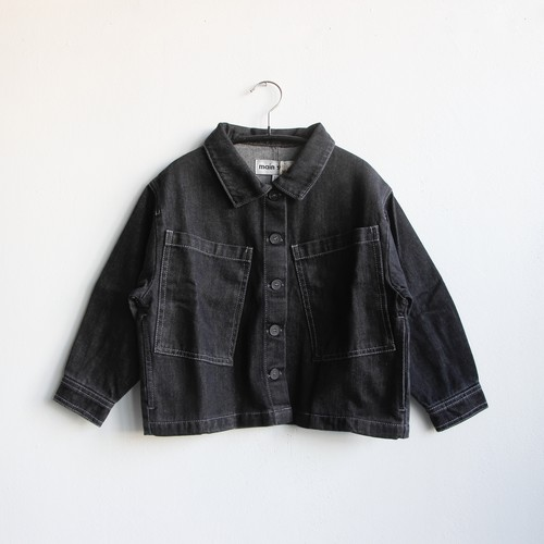 《main story 2021SS》Artiste Jacket / Black Denim