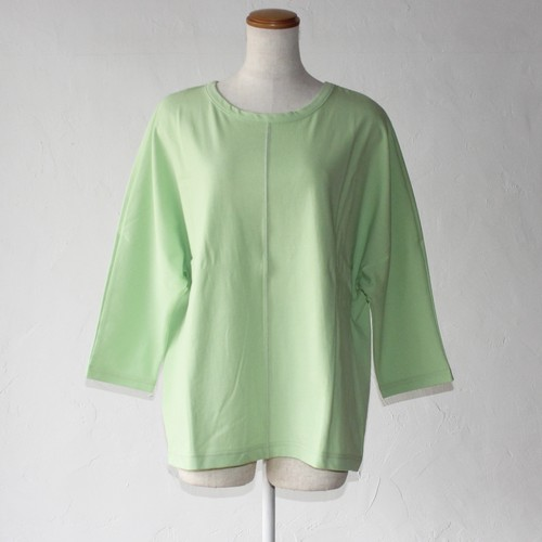 【SAYAKADAVIS】Button Back Tee-lime