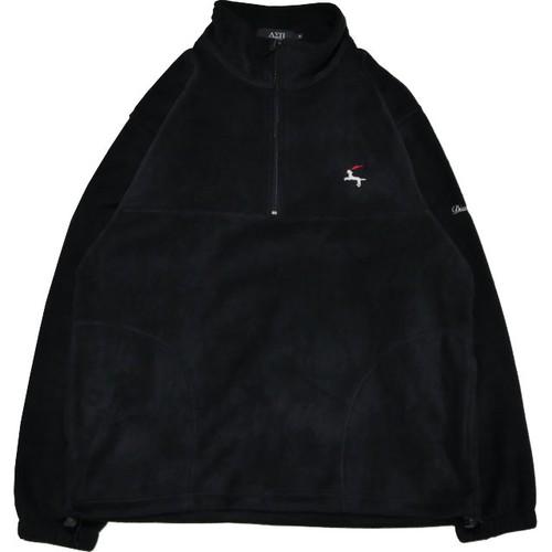 DET Quarter Zip Fleece Shirt (Black)