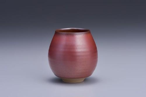 香るカップミニサイズ 赤釉
