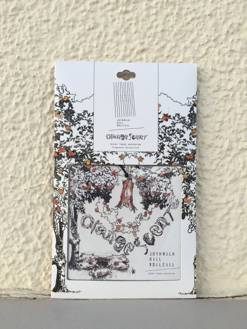 """Orange Scent"" Fragrance Swing Card"