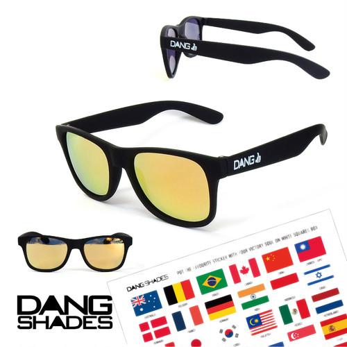 DANG SHADES (ダン・シェイディーズ) LOCO //ハイコントラストレンズ (ロコ) vidg00406 サングラス ケース 付属 アウトドア ユニセックス メンズ レディース キャンプ ウィンター スポーツ スノボ スキー 紫外線 メガネ 眼鏡 グラス おしゃれ かっこいい カラー ライト 運転 ドライブ