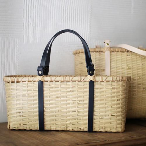 竹かごトートバッグS