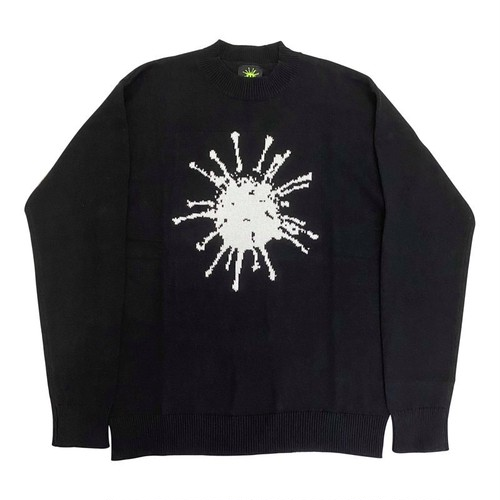 VIRUS WORLD Sweater BLACK