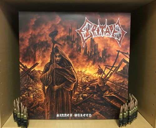 "EPITAPH  (Swe) ""Sinner Waketh Official LP (black, red marble or clear)"""