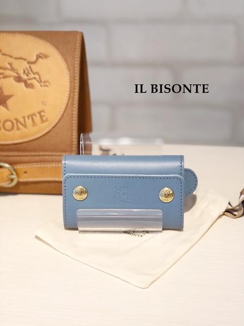 【2021SS新色】IL BISONTE(イルビゾンテ)/6連キーケース/04390(アヴィオ)