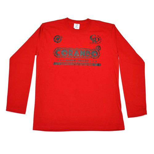 コランドロング Tシャツ レッド