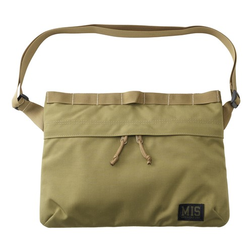 MIS-1003 PADDED SHOULDER BAG - COYOTE TAN