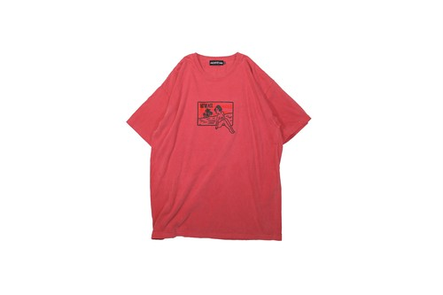 T-shirt Used Red