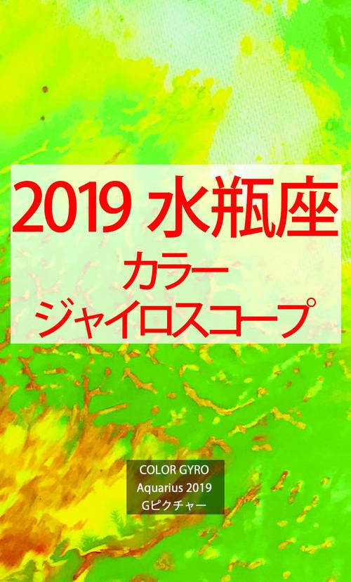 2019 水瓶座(1/20-2/18)【カラージャイロスコープ】