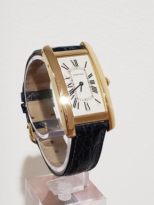 Cartier カルティエ タンクアメリカン MM