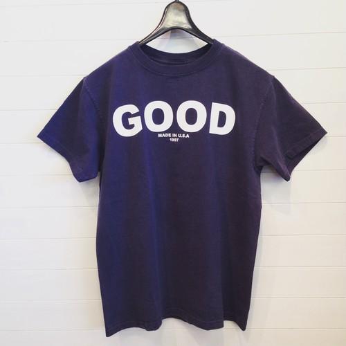 """Good On(グッドオン)S/S """"GOOD ON"""" LOGO T/""""GOOD ON"""" ロゴTシャツ NAVY/WHITE"""
