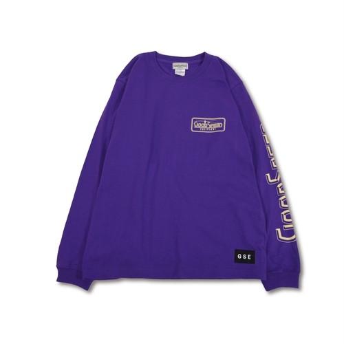 GOODSPEED equipment / Logo L/S T's(purple)