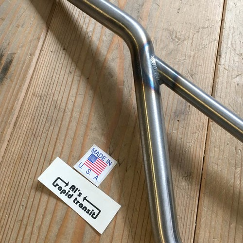 AL'S RAPID TRANSIT / VINTAGE STYLE HANDLE BAR (RAW COLOR)
