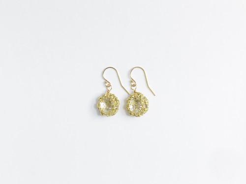 Yularice Bijoux pierced earring M Gold