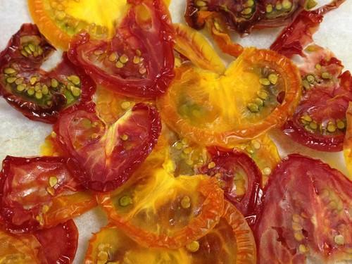 無添加ドライ野菜チップス(トマト)