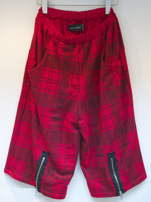 Daniel Palillo PLAID PRINT SHORTS プレイド プリント ショーツ / RED 30%OFF