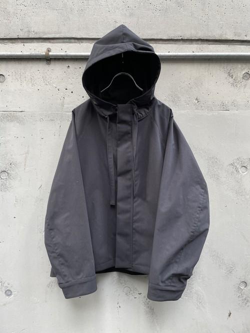 『VOAAOV』sustainable nylon parka / BLACK