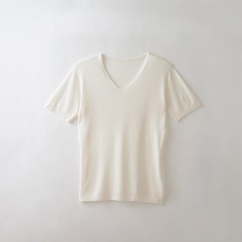TAKEFU  メンズ無縫製半袖インナー