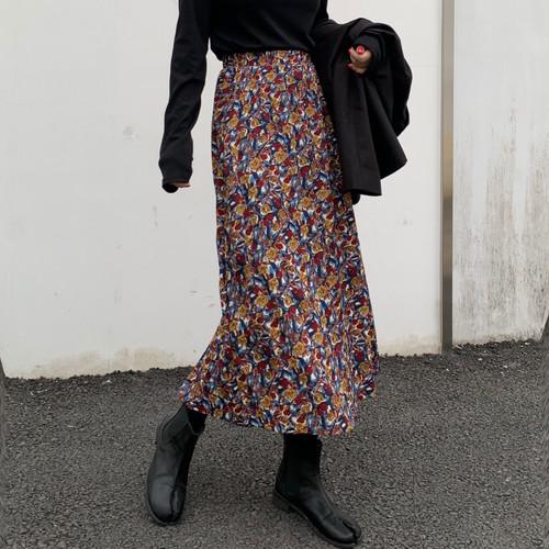 【FAST】フラワーロングスカート #RD4978