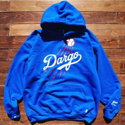 "【DARGO】""Dodgers Logo"" Pull Over Hoodie (ROYAL BLUE)"