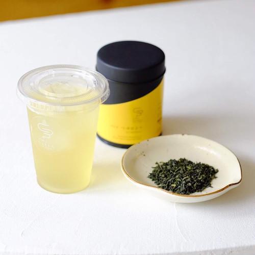 つゆひかり - 釜炒り茶 - 茶缶50g/10個ティーバッグ