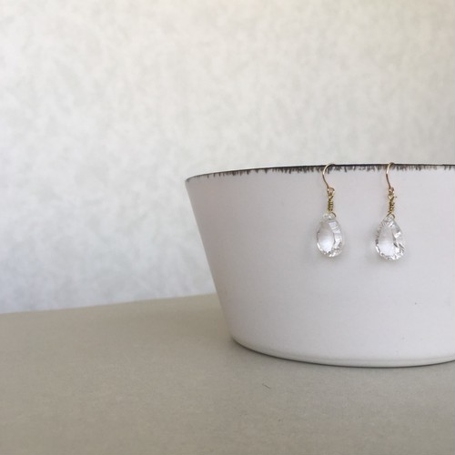 Crystal,pierce (再入荷!)