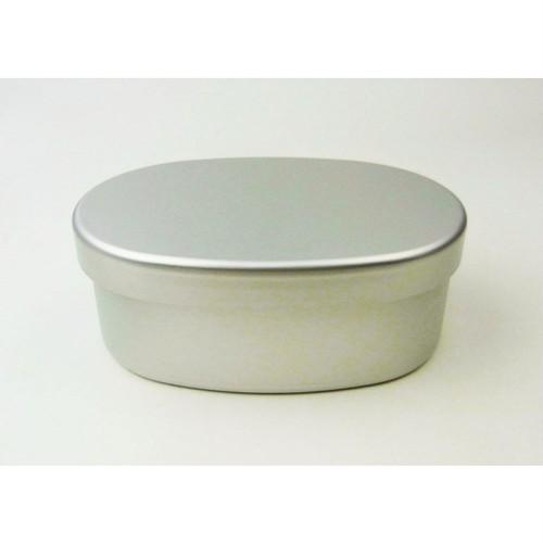 ECOデリお弁当箱 小判型 内フタ 仕切り付き[厚型]