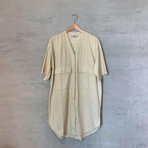 【KLOKE】FOG POCKET DRESS/No.13-A=ACID BLEACH